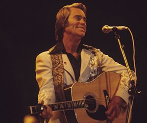 George Jones onstage