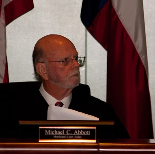 Presiding Judge Michael Abbott