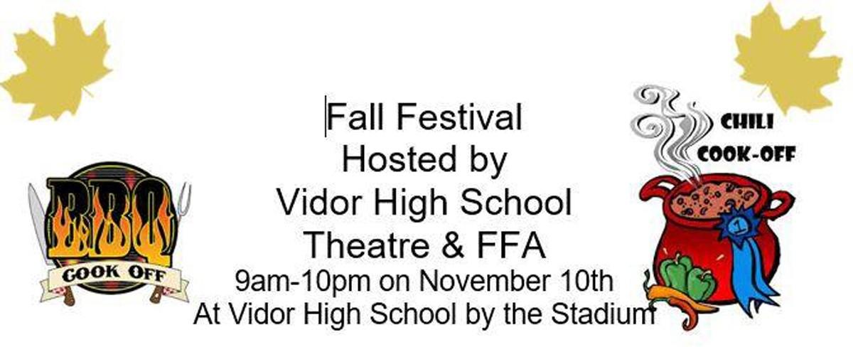 VHS Theater & FFA Fall Fest 2018