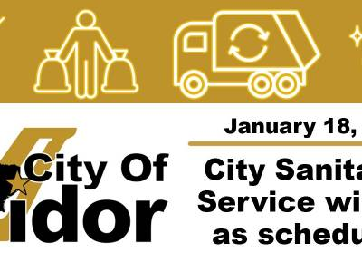 City Sanitation Running As Scheduled