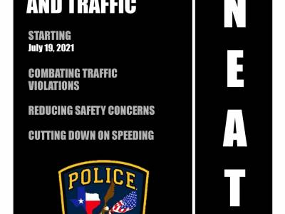 Neighborhood Enforcement And Traffic